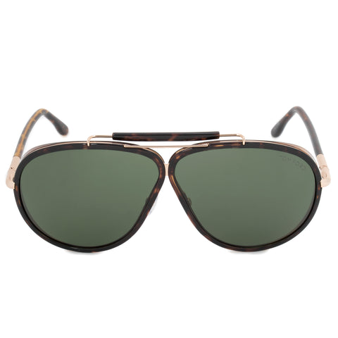 Tom Ford Cedric Aviator Sunglasses FT0509 52N 65