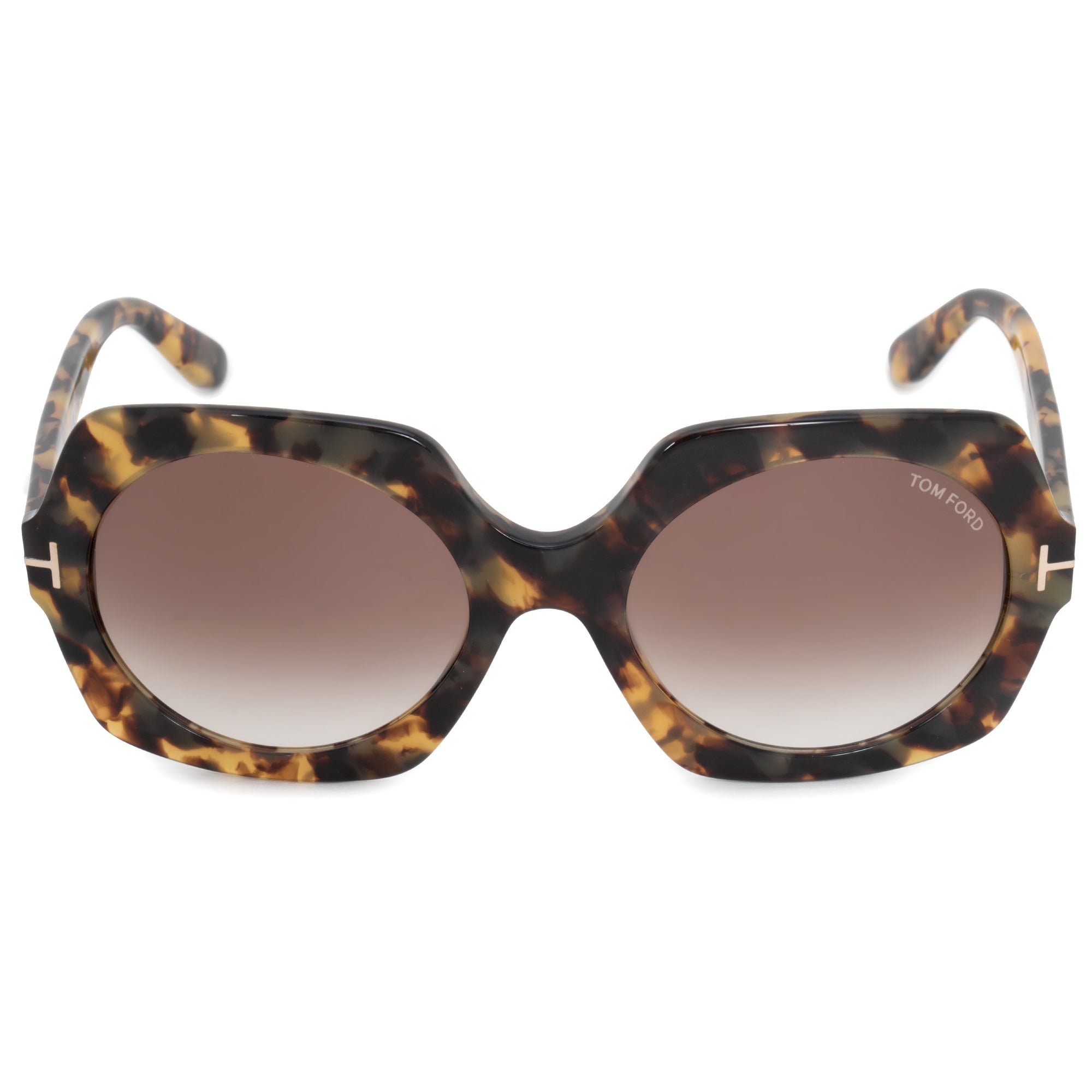 Tom Ford Sofia Round Sunglasses FT0535 | Brown Gradient Lenses