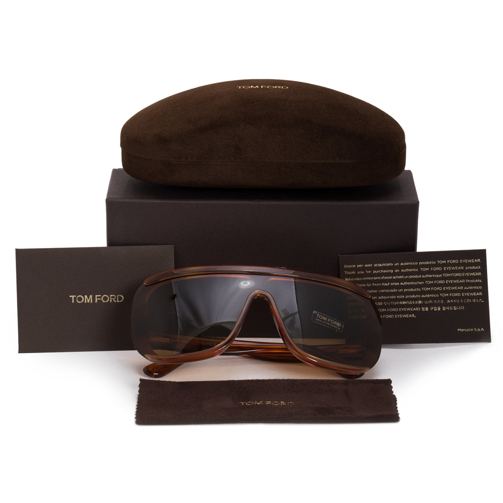 e6489e47e53 Tom Ford Pofirio-02 Semi-Rimless Sunglasses ...