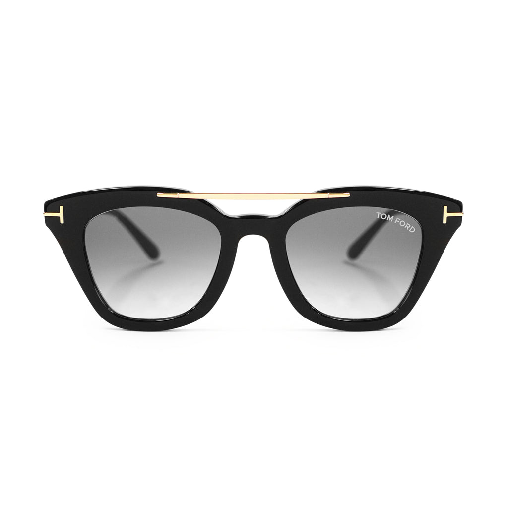 Tom Ford Anna-02 FT0575 01B 49 Cat Eye Sunglasses