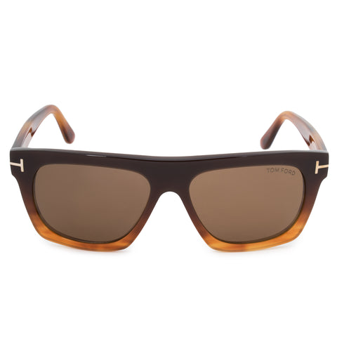Tom Ford Ernesto-02 Wayfarer Sunglasses FT0592 50E 55