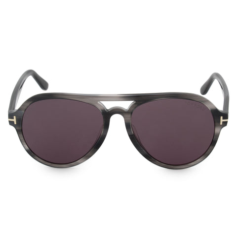 Tom Ford Rory-02 Aviator Sunglasses FT0596-F 20A 57