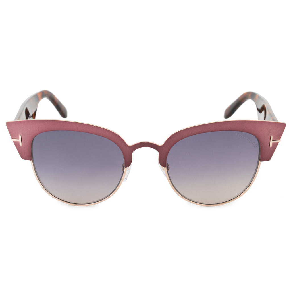 Tom Ford Alexandra Cat Eye Sunglasses FT0607 74B 51