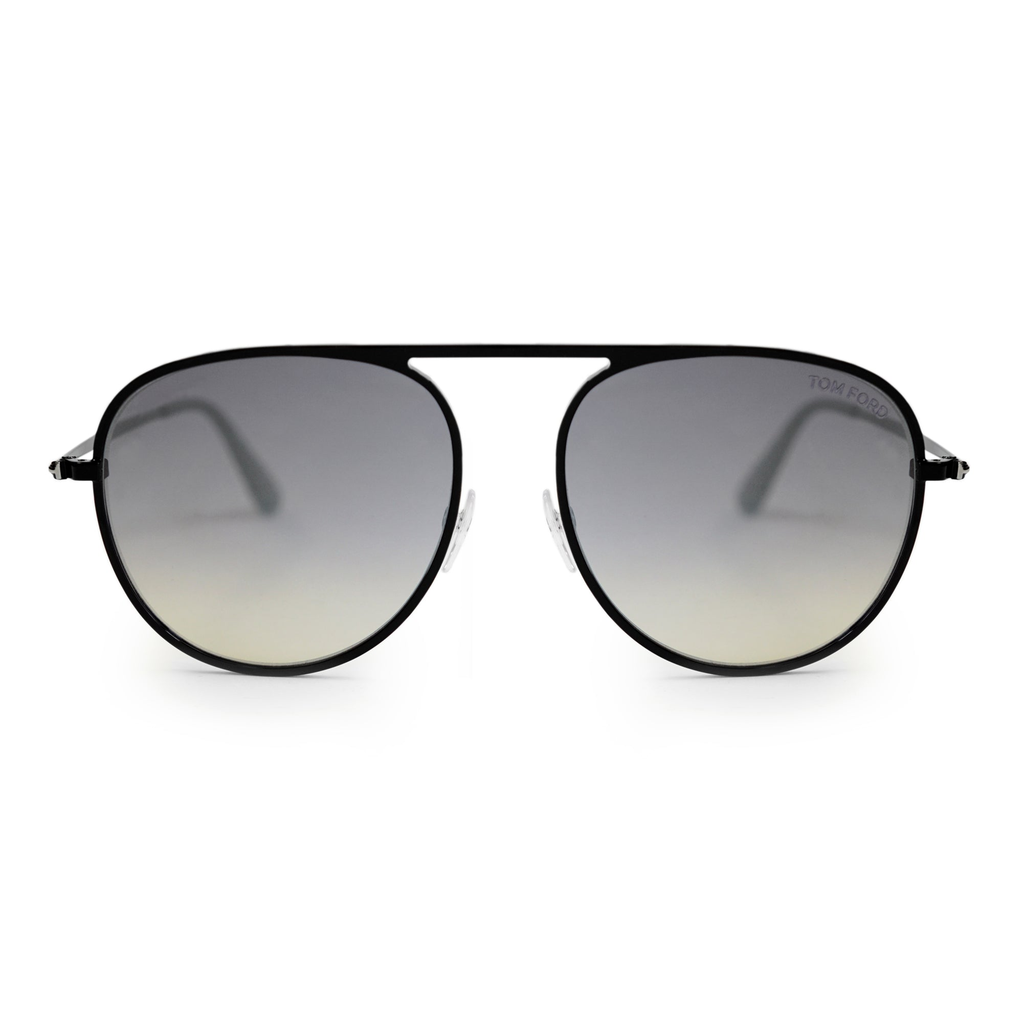 Tom Ford Jason-02 Black Oval Sunglasses FT0621 01C