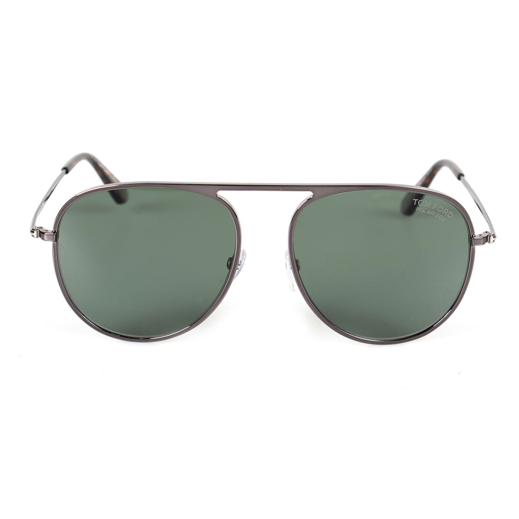Tom Ford Jason-02 FT0621 08R 59 Polarized Aviator Sunglasses