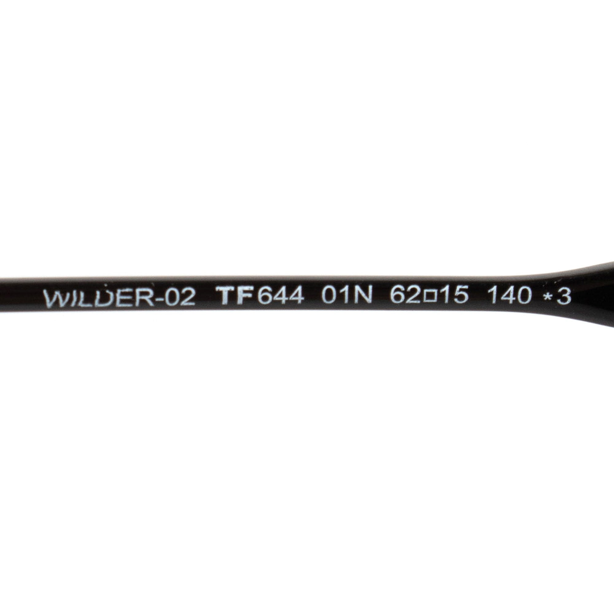 Tom Ford Wilder-02 FT0644 01N 62 Aviator Sunglasses