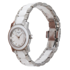 Tissot T-Trend White Ceramic Ladies Watch