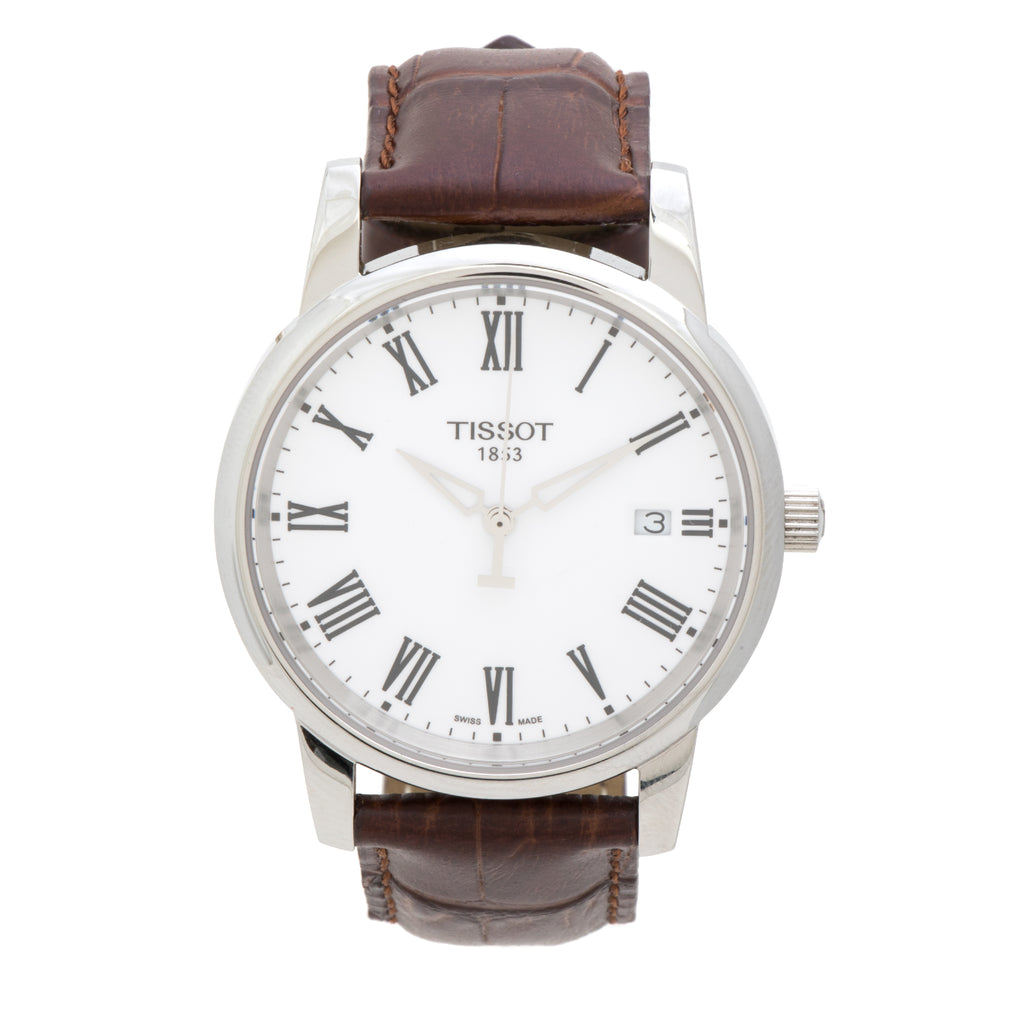 Tissot T-Classic Dream White Dial Men's Watch