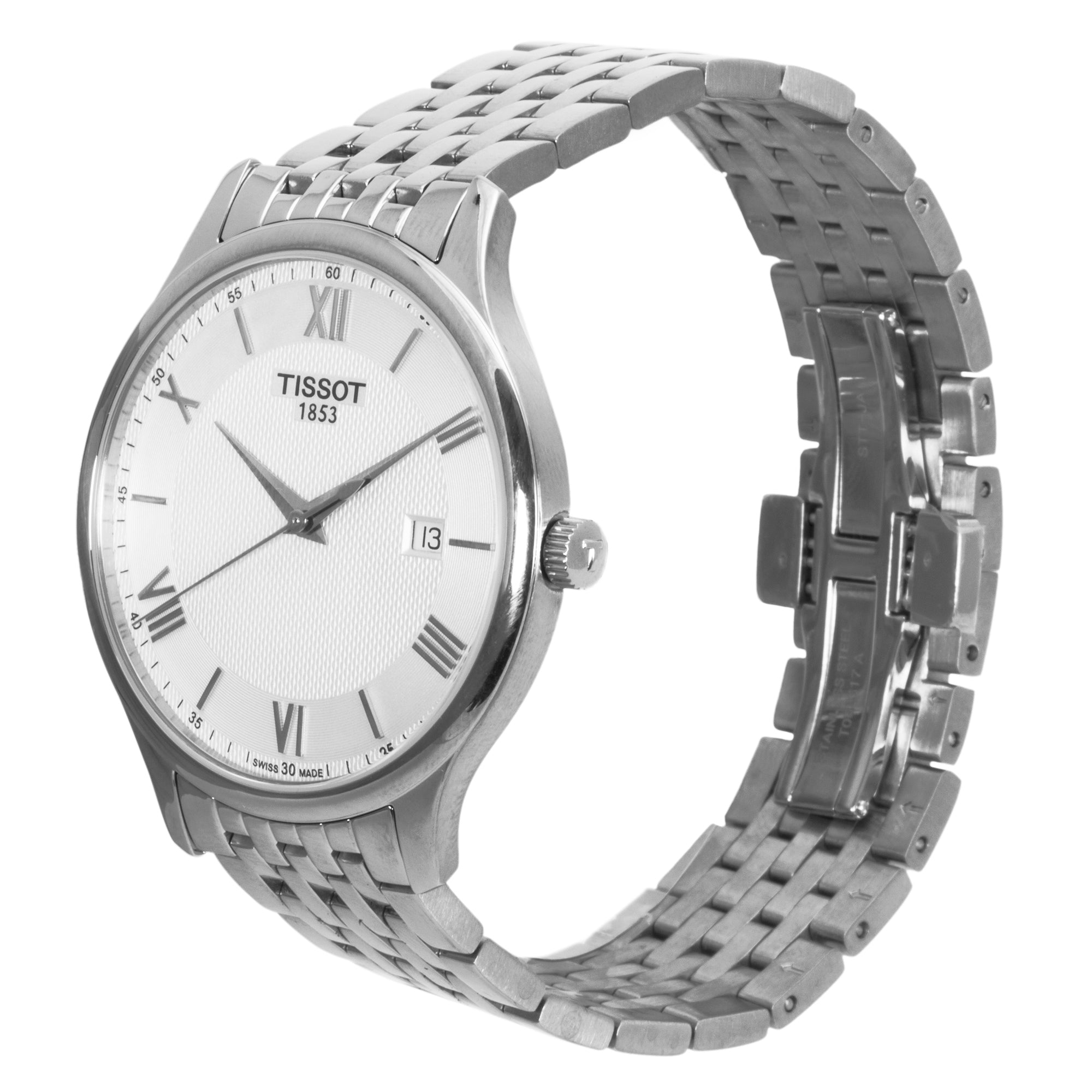 Tissot Tradition Silver Dial Men's Watch