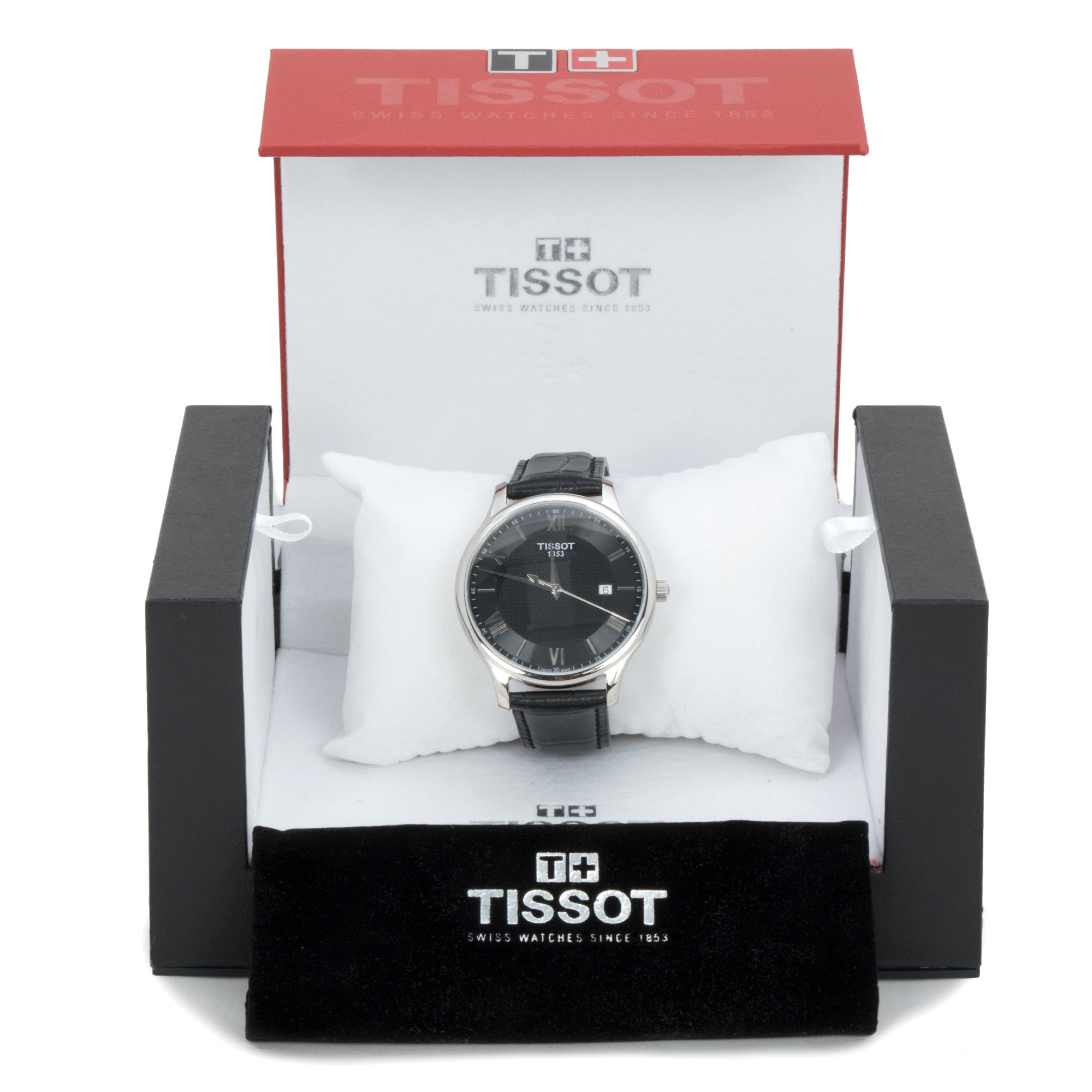 Tissot Tradition Gents Black Men's Watch