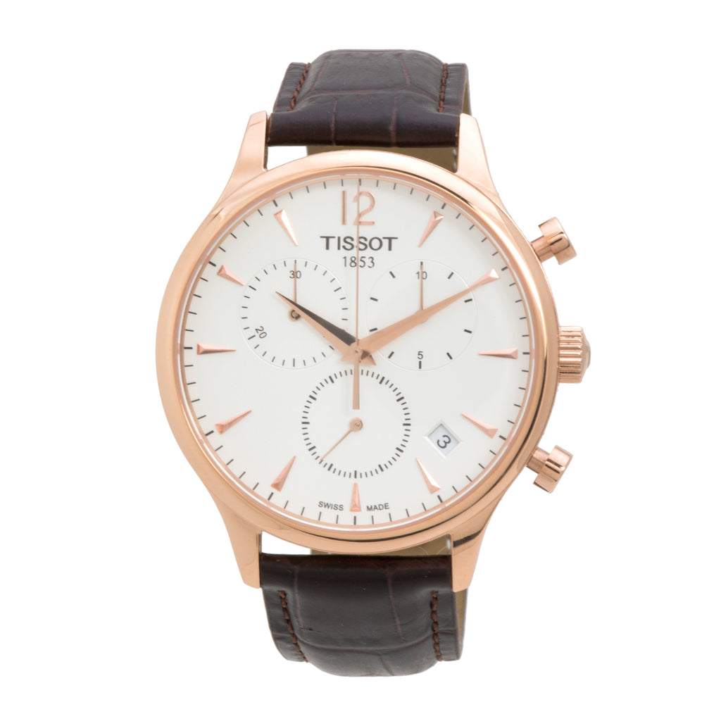 Tissot Tradition Chronograph Rose Gold-Plated Men's Watch