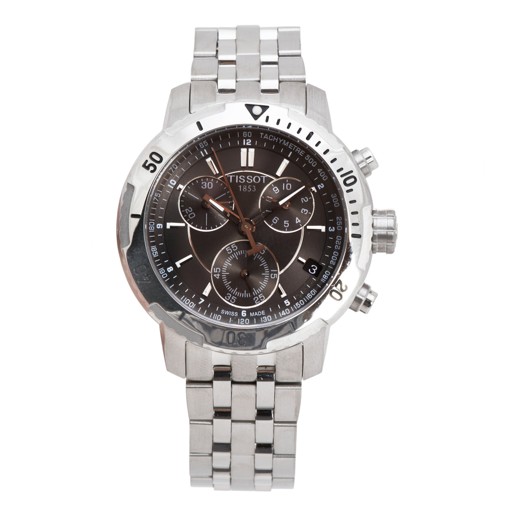 Tissot PRS 200 T-Sport Silver Chronograph Men's Watch