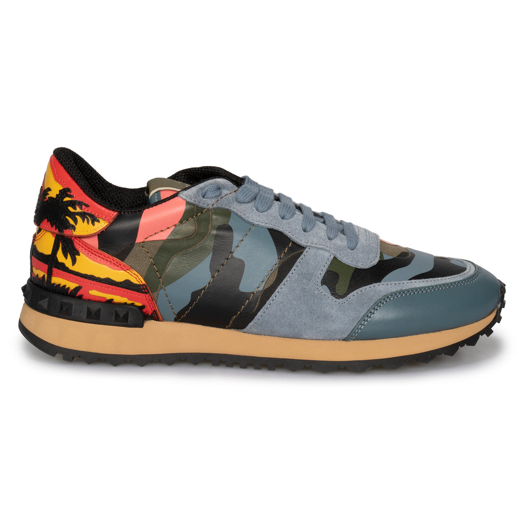 Valentino Hawaiian Couture Sneaker Multicolored