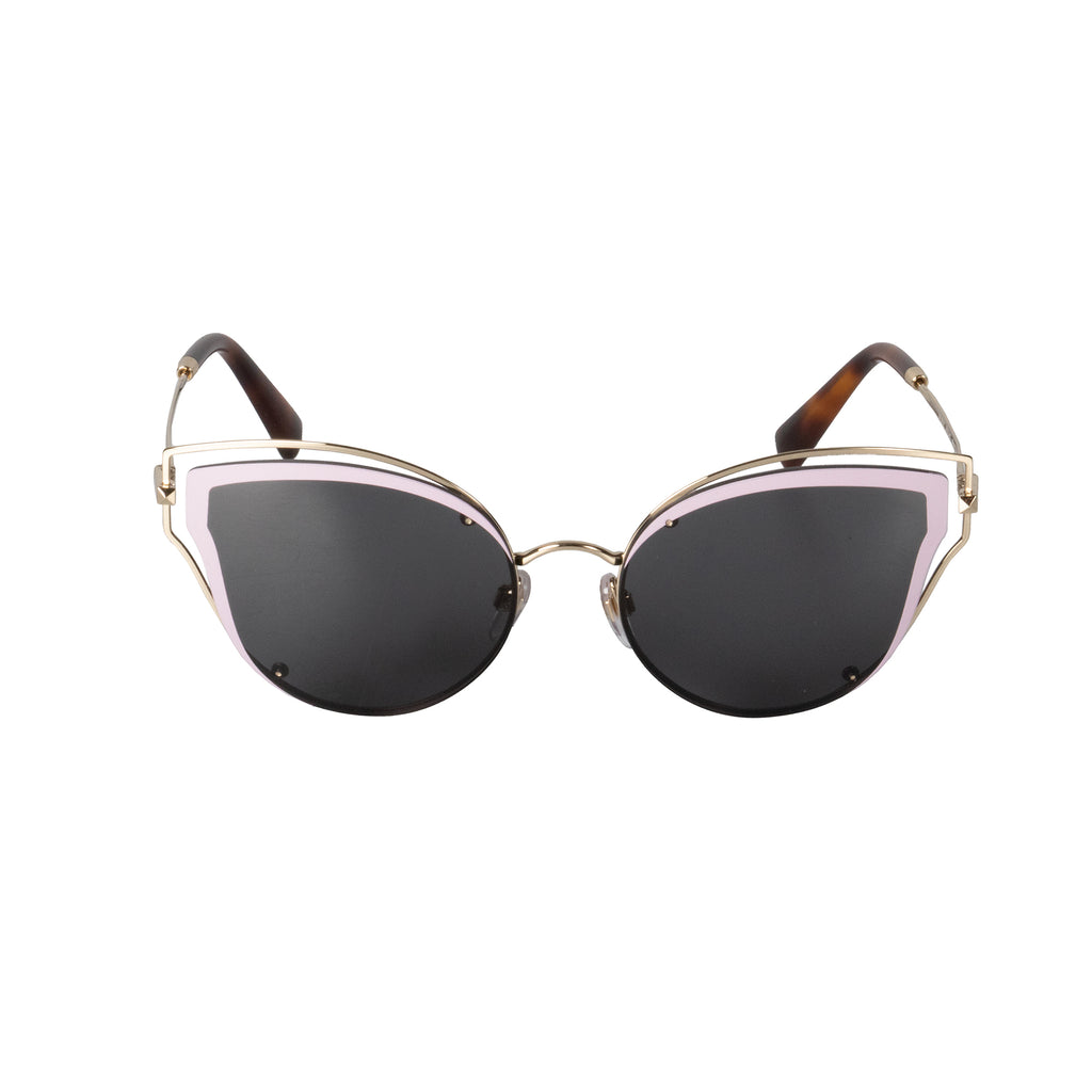 Valentino VA2015 300387 58 Cat Eye Sunglasses