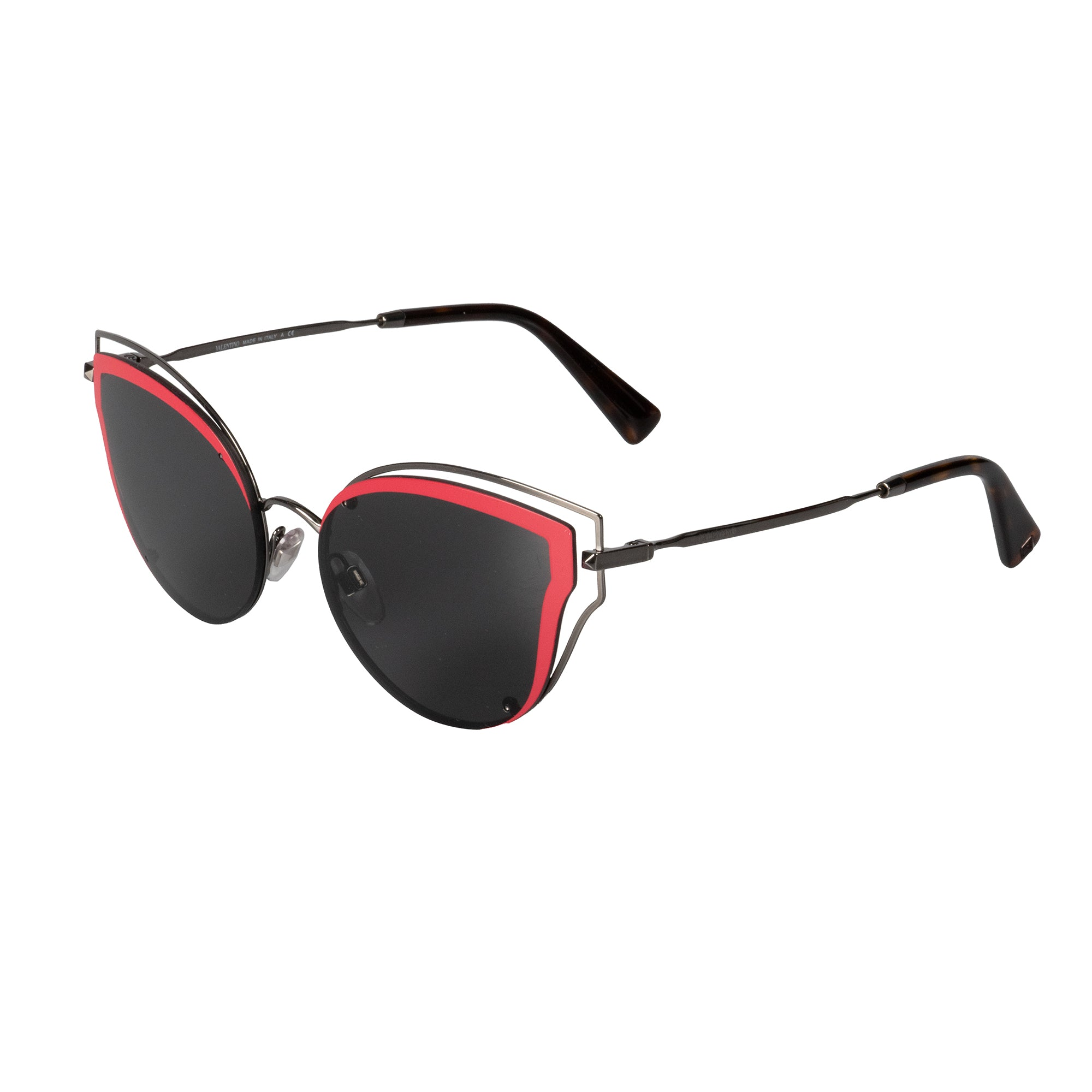 Valentino VA2015 300587 58 Cat Eye Sunglasses