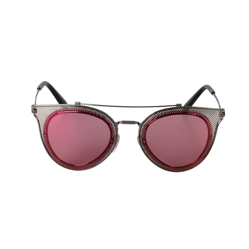 Valentino VA2019 3039/F6 53 Cat Eye Sunglasses