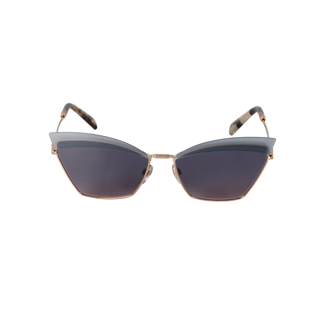 Valentino VA2029 3004I6 60 Cat Eye Sunglasses
