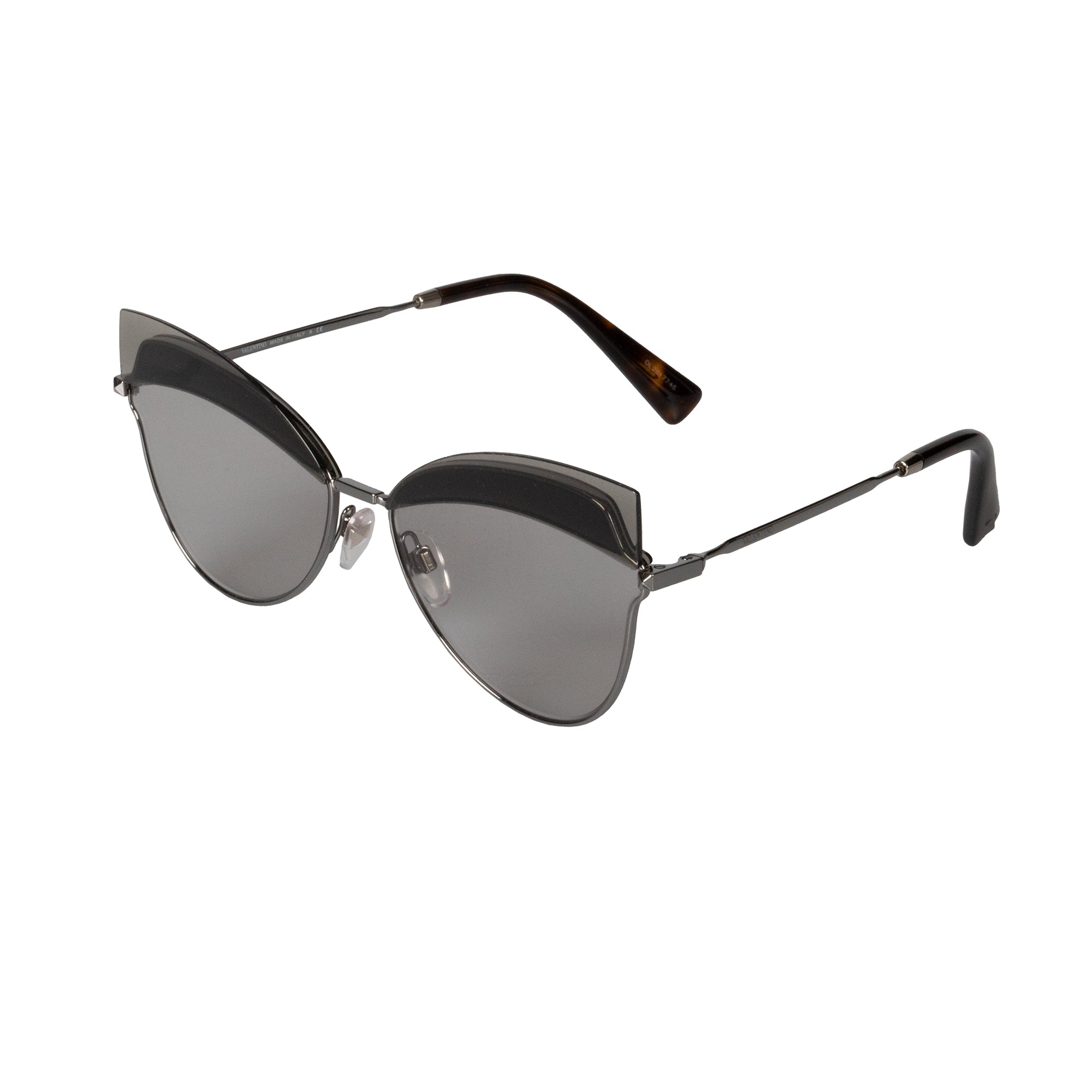 Valentino VA2030 300587 60 Cat Eye Sunglasses