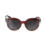 Valentino VA4038 50208G 55 Color-block Oval Sunglasses