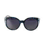 Valentino VA4038 503111 55 Color-block Oval Sunglasses