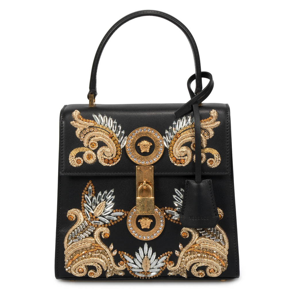 Versace Medium Embroidered Barocco Icon Bag