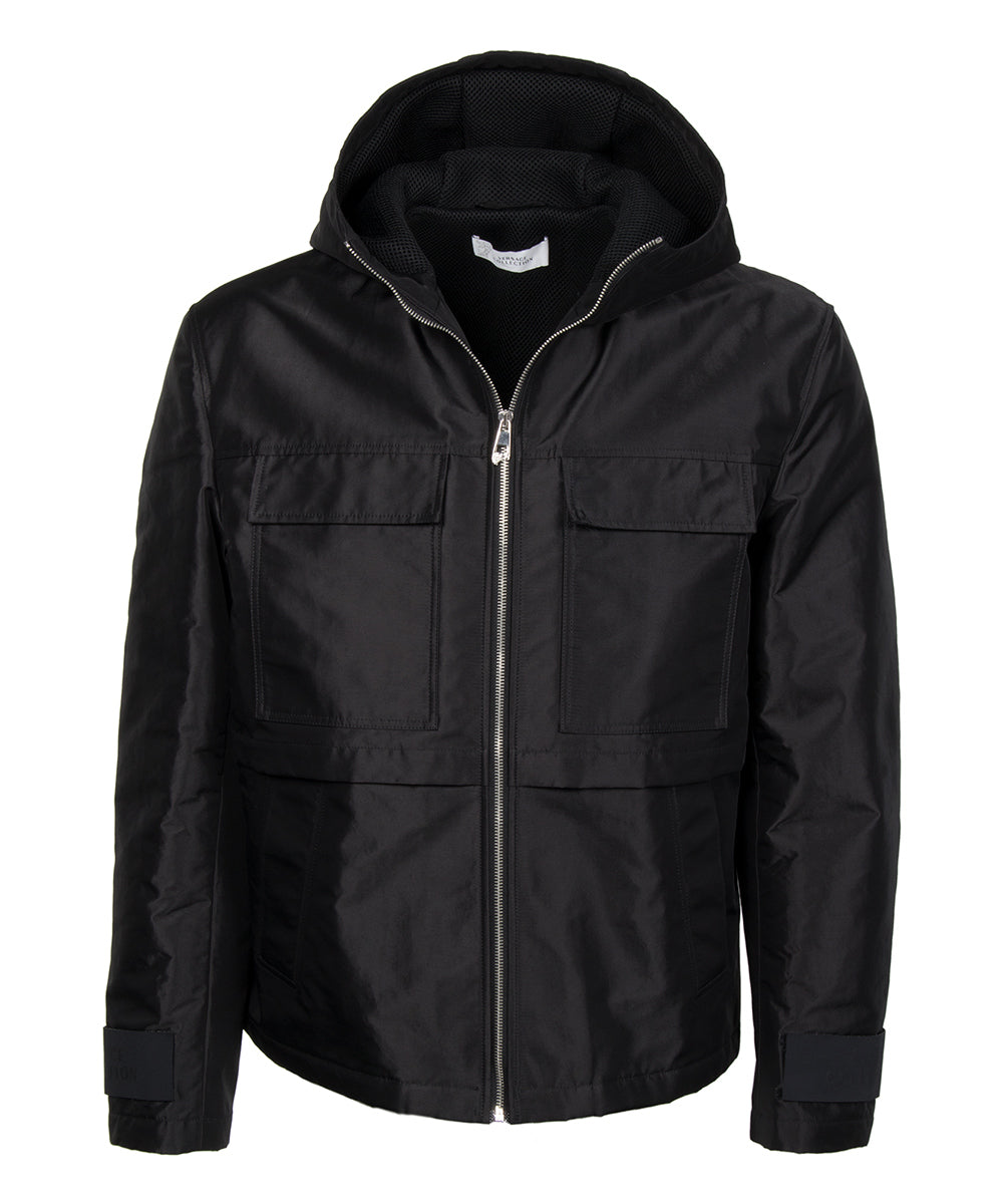 Versace Hooded Jacket | Black