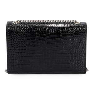 Saint Laurent Small Kate Monogram Chain Bag with Tassel