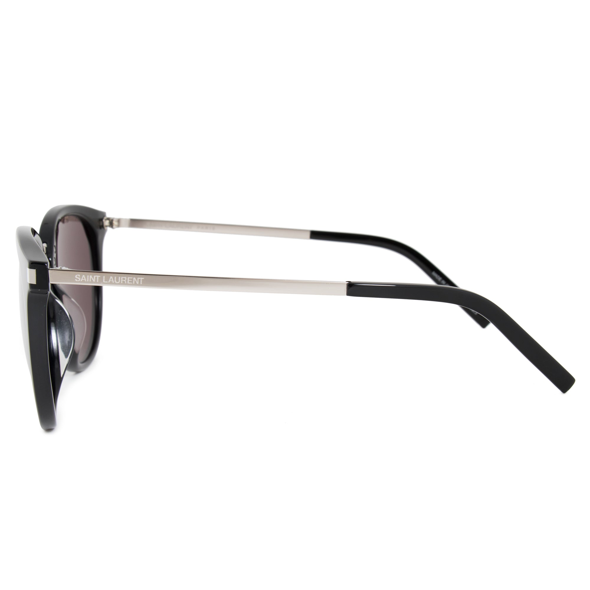 Saint Laurent Saint Laurent SL 130/K COMBI 001 55 Cat Eye Sunglasses