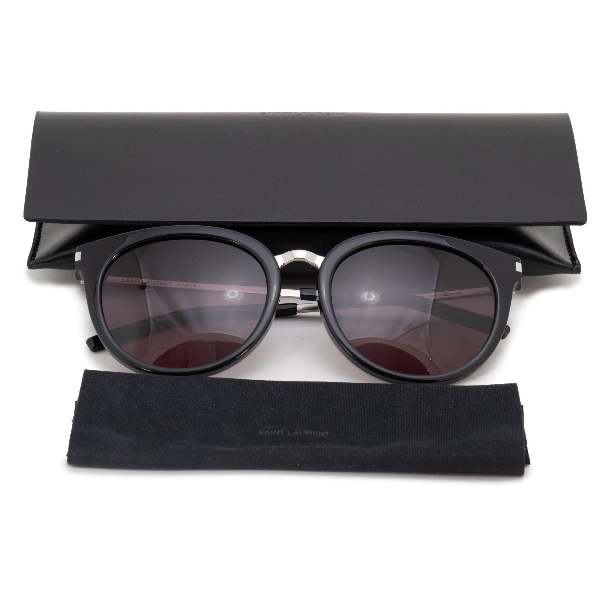 Saint Laurent Full Rimmed Sunglasses SL123K 001 55