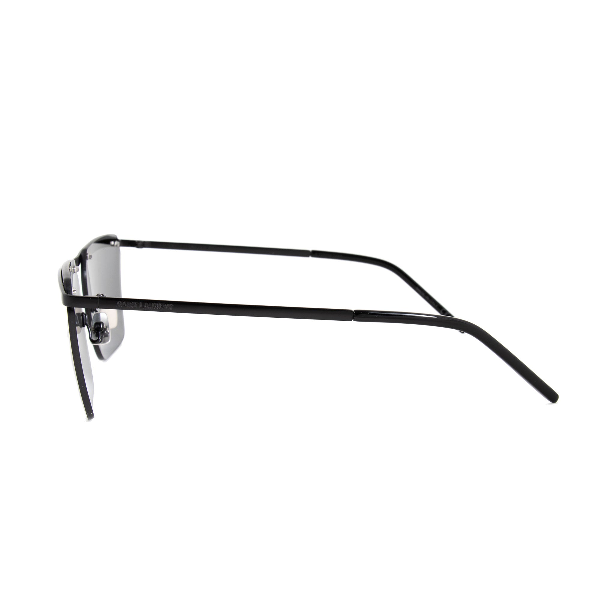 Saint Laurent Saint Laurent SL 243 004 60 Rimless Rectangular Sunglasses