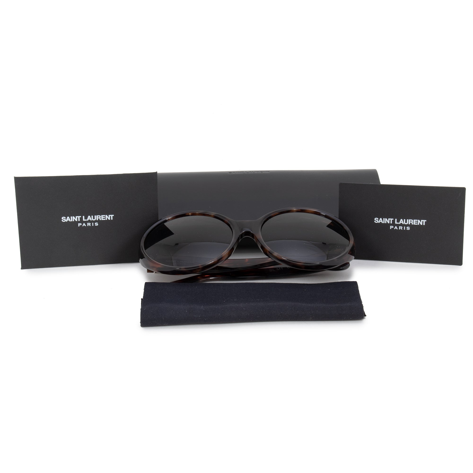 Saint Laurent Saint Laurent Round Sunglasses SLM1 007 60
