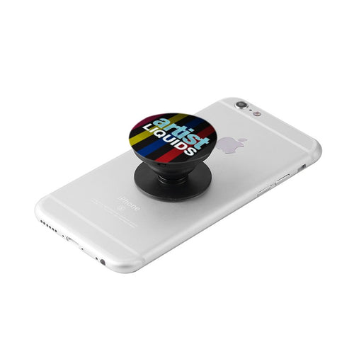 Black Artist Pop Grip & Stand for Phones and Tablets