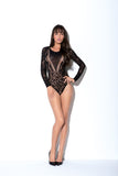 LONG SLEEVE BODYSUIT - PULCHRA Lingerie Boutique