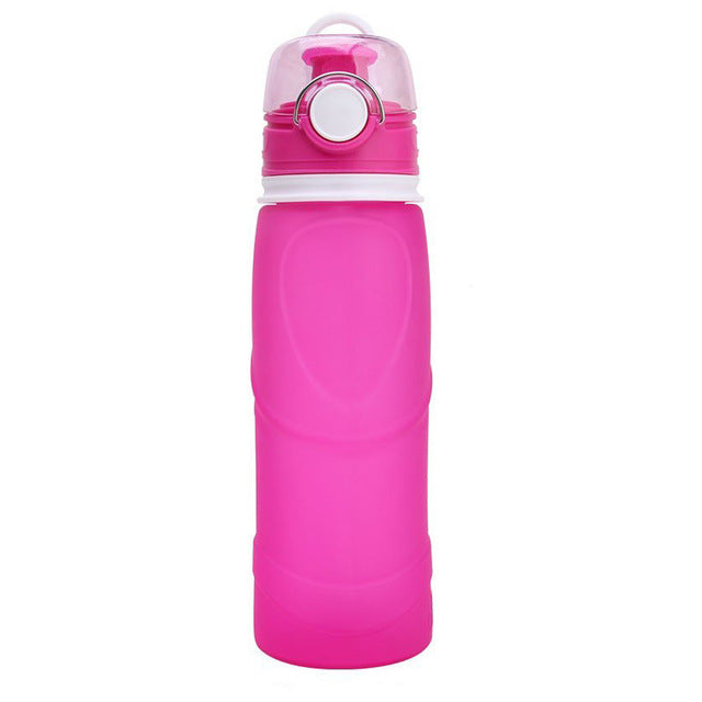 750ML Collapsible Silicone Water Bottle