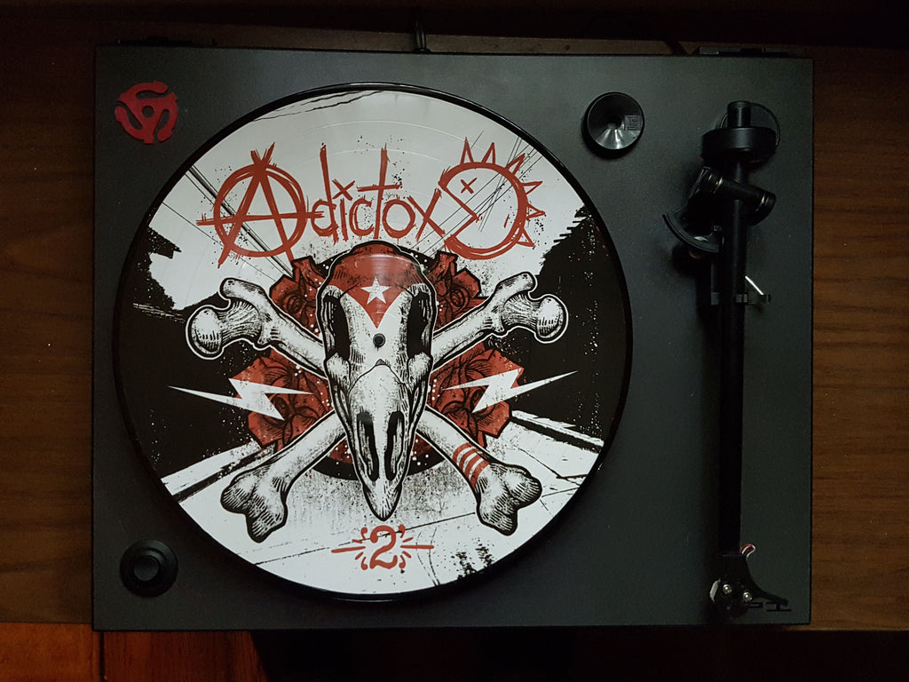 GRIZZ001 - Adictox -2- Picture Disc