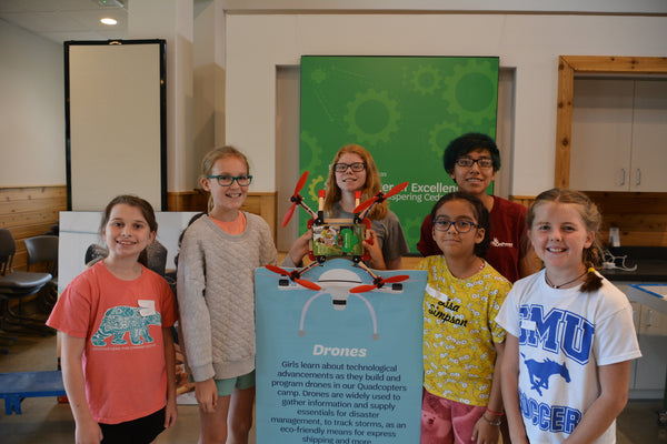 OnPoynt Designs One-Of-A-Kind Drone for Girl Scout Drone Camp