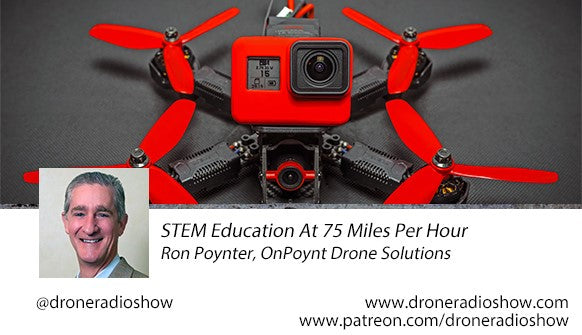 STEM at 75mph! OnPoynt on the Drone Radio Show