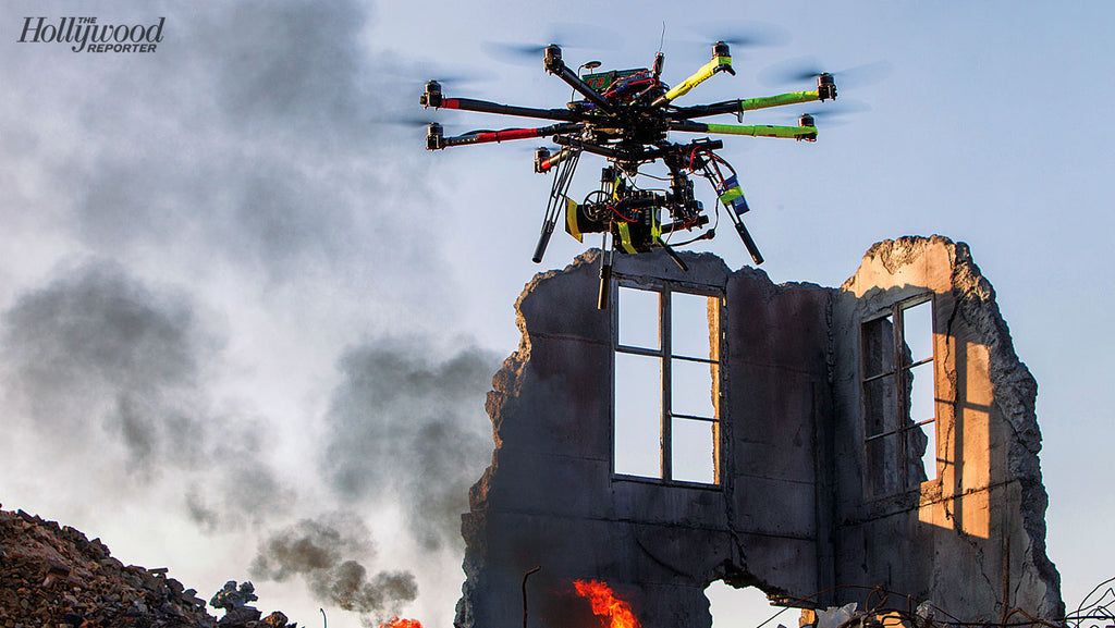 Drones Capture Cinematic Footage from Movies to Weddings