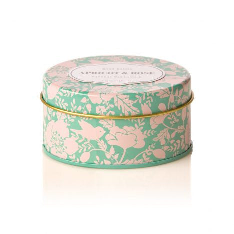 Rosy Rings Apricot Rose Travel Tin