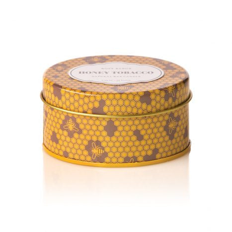 Rosy Rings Honey Tobacco Travel Tin Candle