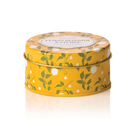 Rosy Rings Lemon Blossom Travel Tin Candle
