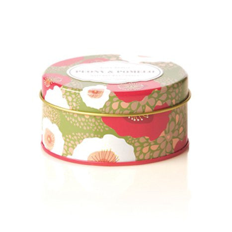 Rosy Rings Peony & Pomelo Travel Tin Candle
