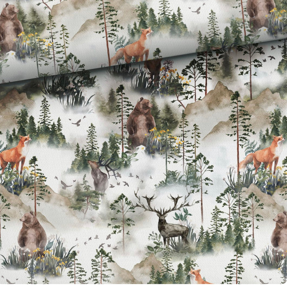 Foggy Woodland T Shirt