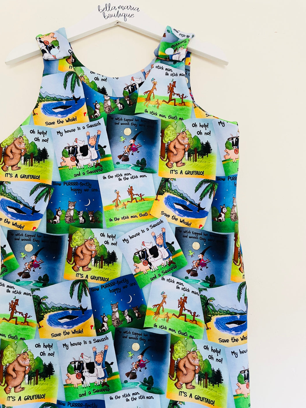 Ready Made Julia Donaldson Short Romper 12-18m 3-4yrs