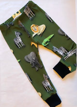 Khaki Animals Leggings
