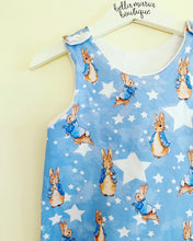 Peter Rabbit Blue Star Dungaree Romper