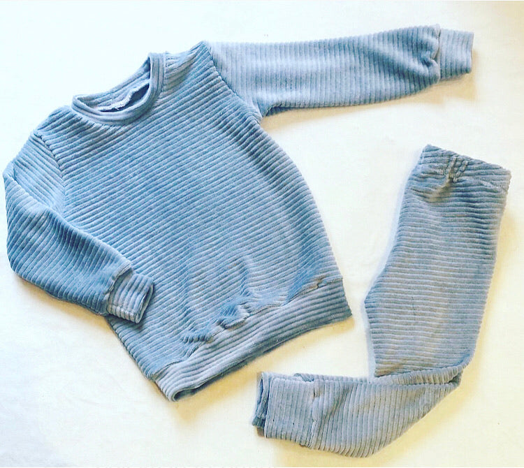 Knitted Corduroy Jumper