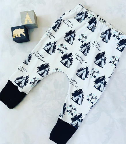 Little Explorer Adventure Awaits Leggings