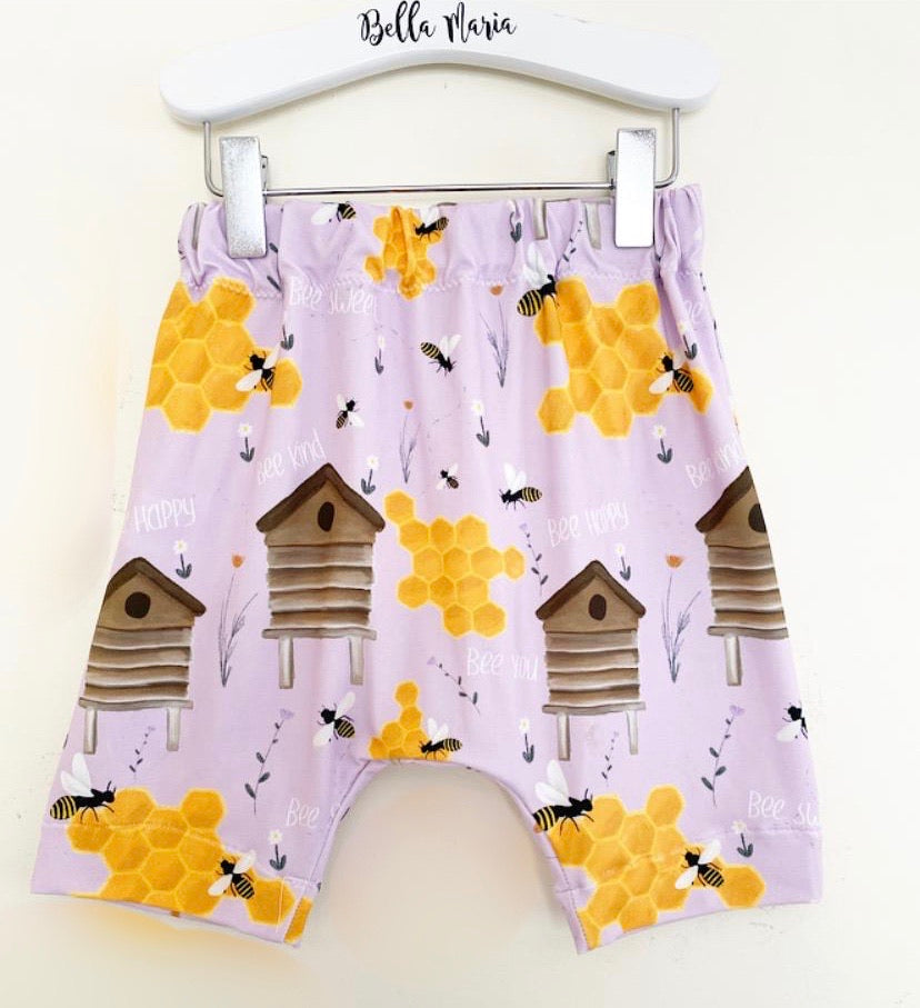 Bee Hive Shorts