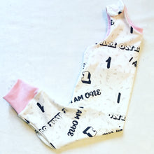 'I am One' Dungaree Romper